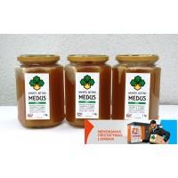 """3Kg - Miško ir aviečių medus, gali turėti ir """"lipčiaus"""" +Nemokamas pristatymas į Omniva paštomatą"""